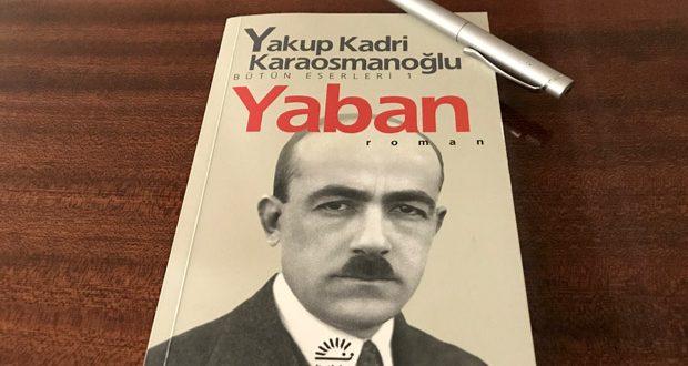 Yakup Kadri Karaosmanoğlu Yaban Kitabının Özeti